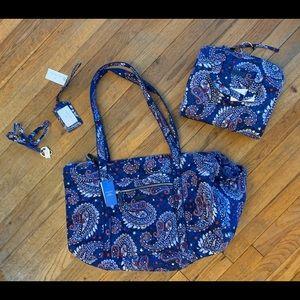 Vera Bradley Americana Bag Set